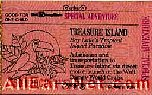 74 Treasure Island Ticket