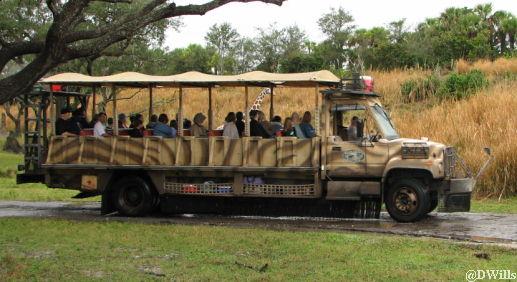 Image of: Walt Disney Safari Vehicle Allearsnet Kilimanjaro Safaris At Disneys Animal Kingdom