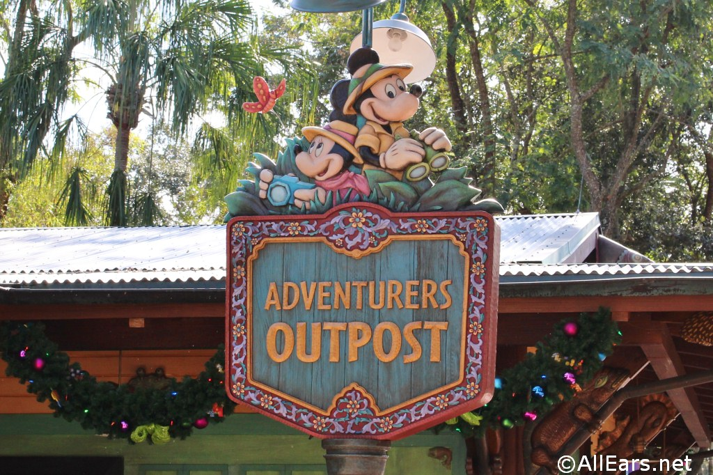 Adventurers Outpost Character Meet And Greet With Mickey