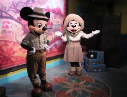 Adventurers Outpost Mickey and Minnie