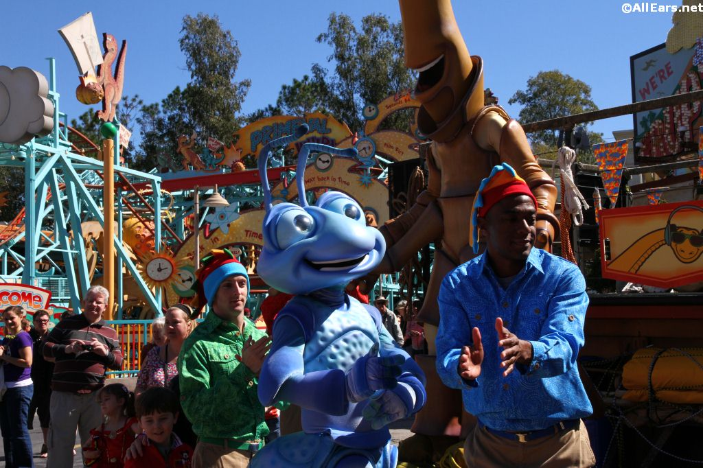 Animal Kingdom Dance Party in DinoLand USA - Photos and Video