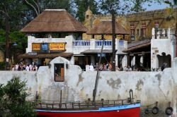 Harambe Theater Area