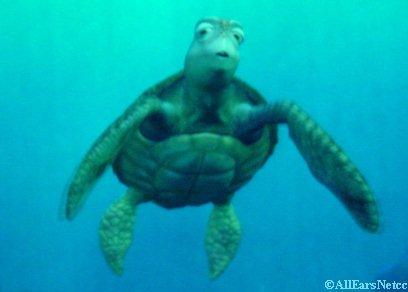 Turtle Talk With Crush Disney Animation Building, Hollywood Land Disney California Adventure