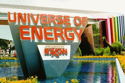 Universe of Energy During Flower and Garden Festival