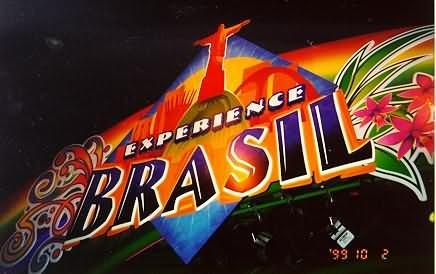 Experience Brazil Sign