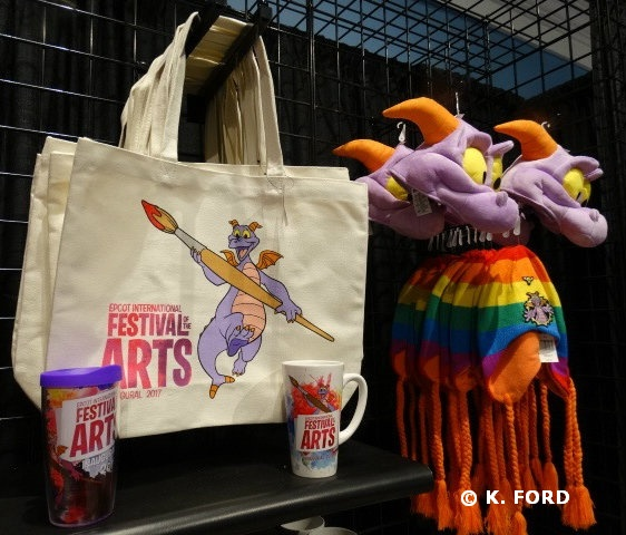 Epcot Festival of the Arts Merchandise