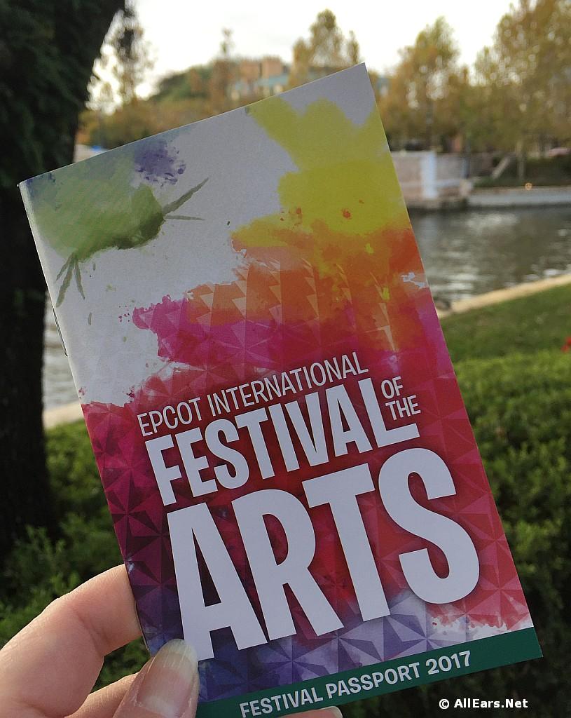Epcot Festival of the Arts Passport