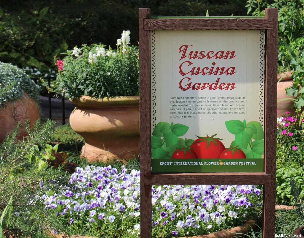 Kitchen Garden International 2016 Epcot Flower And Garden Festival Future World Topiaries And