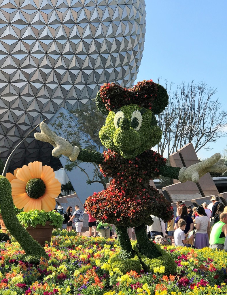 2018 Epcot Flower And Garden Festival Topiary Photo Gallery Allears Net