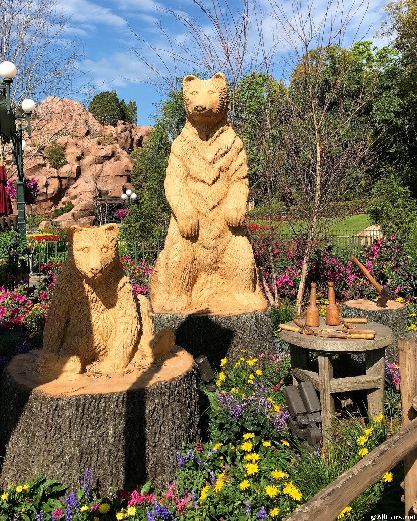 2018 Epcot Flower and Garden Festival World Showcase Gardens Photo ...