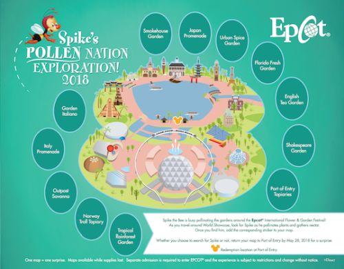 Spike's Pollen Nation Exploration at Epcot