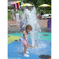 Epcot Water Fountains for Kids