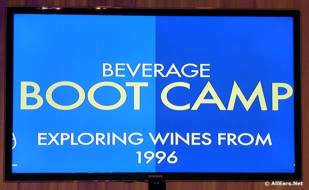 Epcot Food and Wine Festival Boot Camp