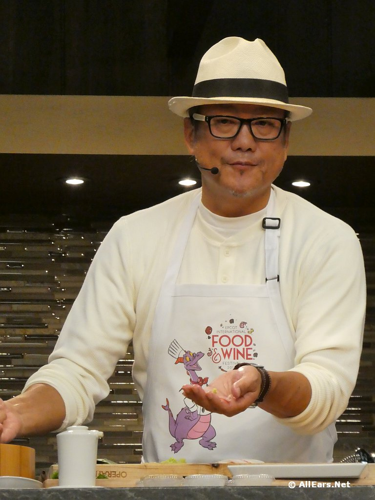 Epcot Food and Wine Festival Chef Morimoto