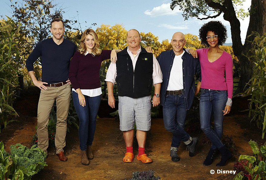 The Cast of the Chew at Epcot Food and Wine Festival
