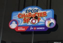 Epcot Character Spot     Future World Joy and Sadness