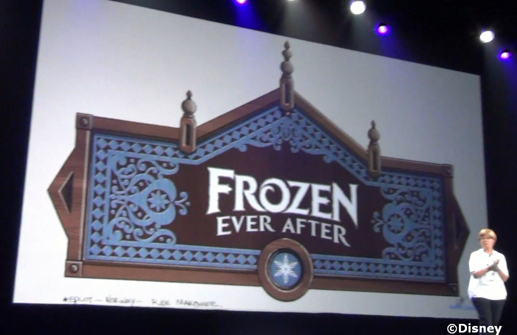 "Finding ""Frozen"" in Disney Parks"