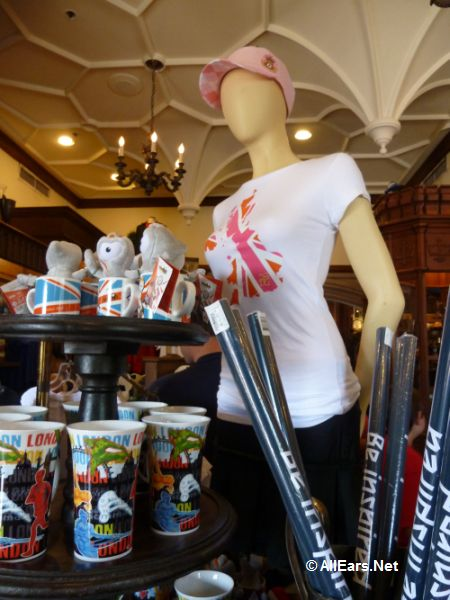 Olympics Merchandise at Epcot