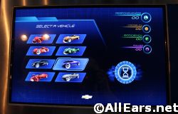 Test Track Epcot Design Phase