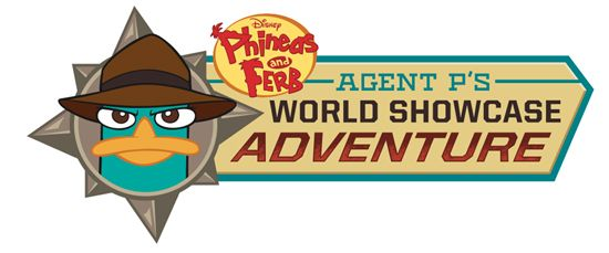 Phineas and Ferb: Agent P's  World Showcase Adventure Epcot Agent P's World Showcase Adventure Logo