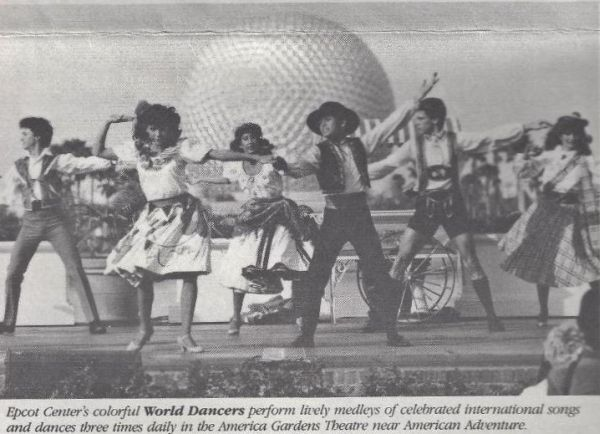 Epcot Dancers in 1984