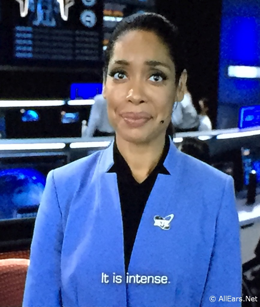 Gina Torres in Mission Space