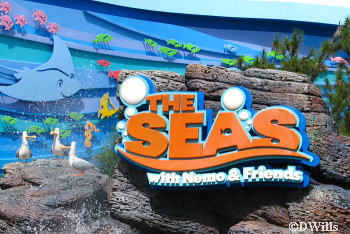 The Seas with Nemo & Friends Exterior