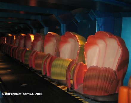 Clamobiles at Nemo's Undersea Adventure