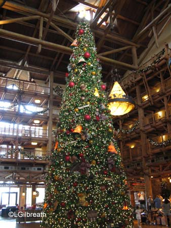 Wilderness Lodge Holiday Tree