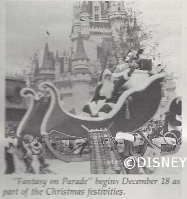 Santa at Magic Kingdom 1976
