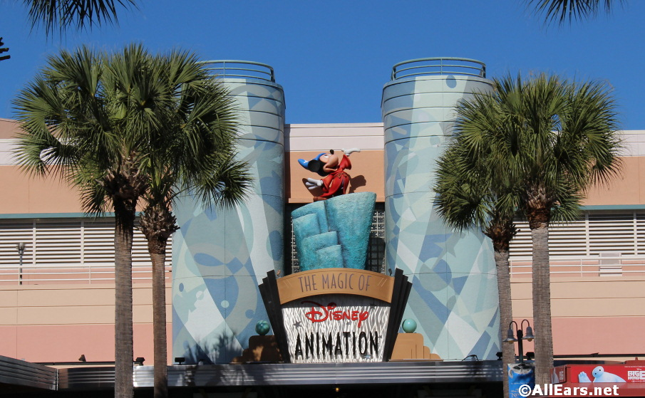 Magic of Animation at Disney's Hollywood Studios Closing July 13