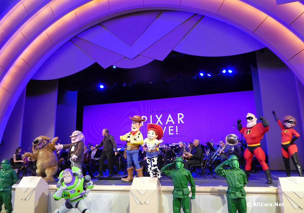 The Music of Pixar Live Starts Limited Run