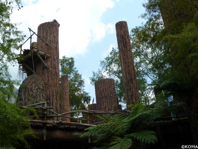 Star Tours Ewok Village