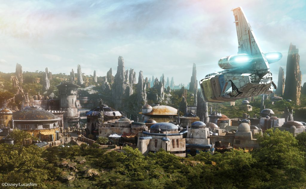 Star Tours Batuu Scene