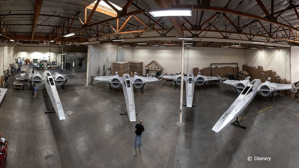 Starfighters for Star Wars Galaxy's Edge