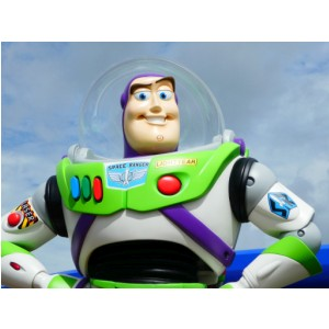Buzz Lightyear at Alien Swirling Saucers