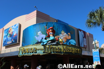 Voyage of the Little Mermaid Exterior