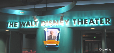 Disney Theater Sign