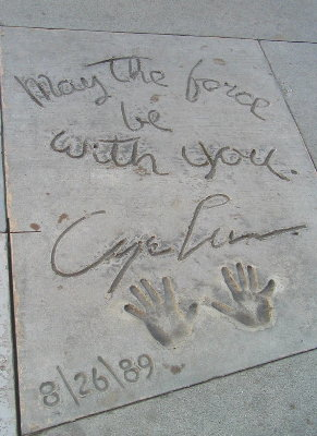 George Lucas Handprints