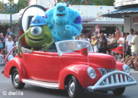 Monsters Inc Float