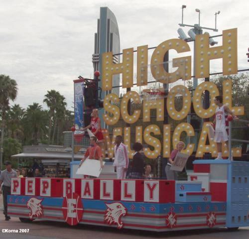 High School Musical Pep Rally Pennant