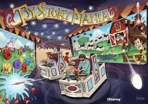 Toy Story Mania Artist Rendering