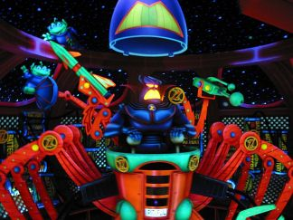 Zurg Target at Buzz Lightyear