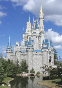 Cinderella Castle Side View