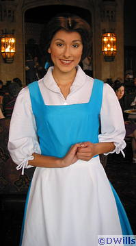 Belle at Cinderella's Royal Table