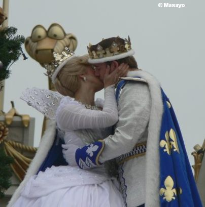 The Kiss at Cinderellabration