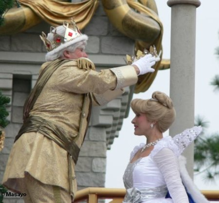 Cinderella Crowned during Cinderellabration