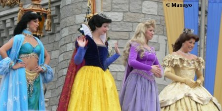 Princesses at Cinderellabration