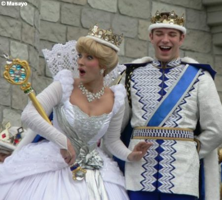 Cinderella and Prince at Cinderellabration