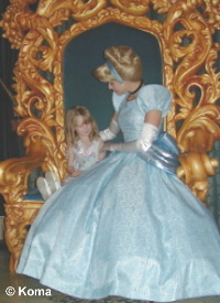 Lindsey with Cinderella